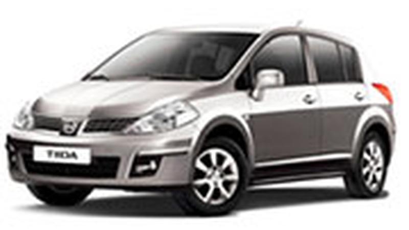 Авточехол для Nissan Tiida С11 хэтчбек (2004+)