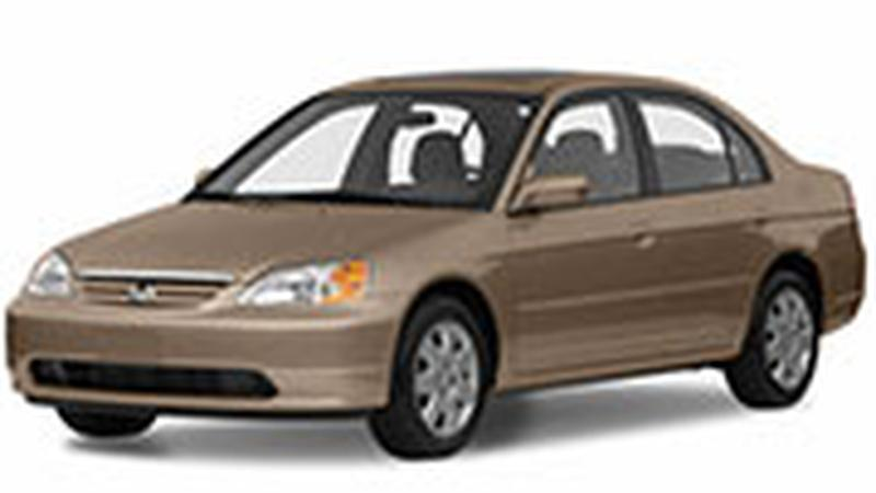 Авточехол для Honda Civic седан Америка (2001-2006)