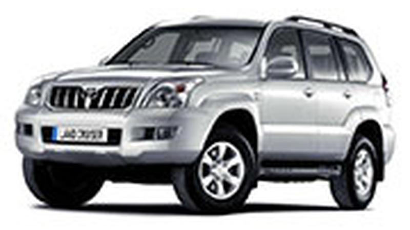Авточехол для Toyota Land Cruiser Prado 120 (2002-2009)