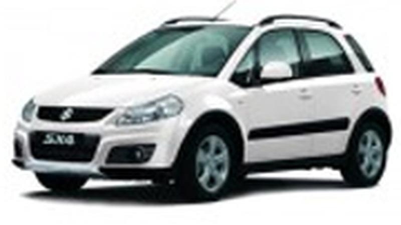 Авточехол для Suzuki SX4 хэтчбек (2007+)