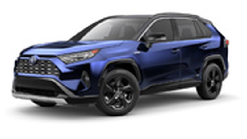 Авточехол для Toyota Rav 4 с 2018г.