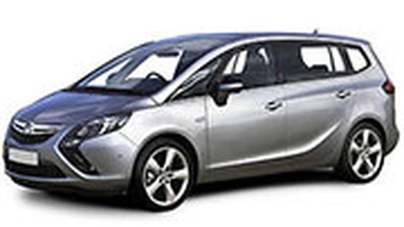 Авточехол для Opel Zafira C 5мест (2012+)