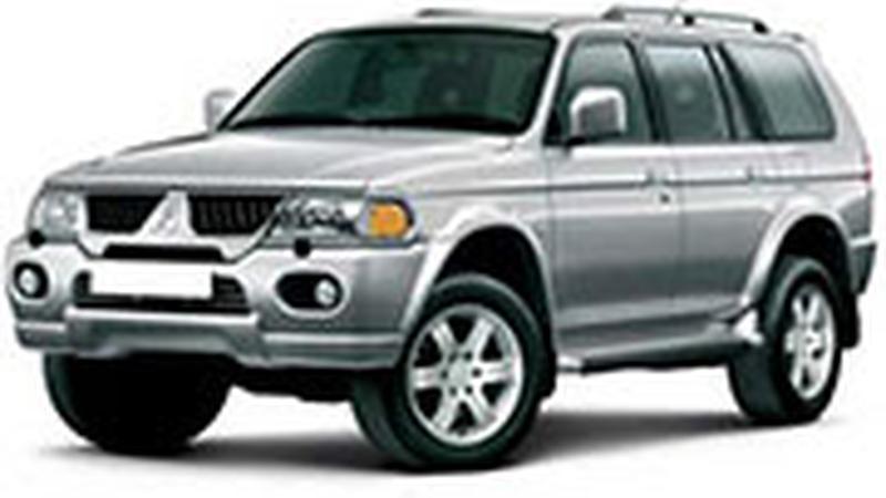 Авточехол для Mitsubishi Pajero Sport I (1998-2008)