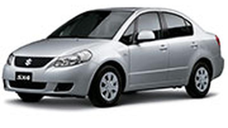 Авточехол для Suzuki SX4 седан (2007+)