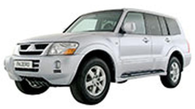 Авточехол для Mitsubishi Pajero (1999-2006)