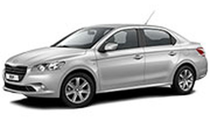 Авточехол для Peugeot 301 (2013+)