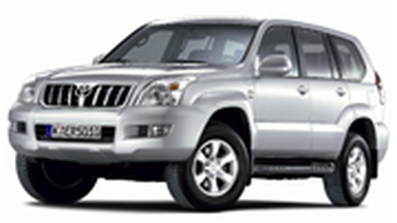 Авточехол для Toyota Land Cruiser Prado 120 (2002-2009) правый руль