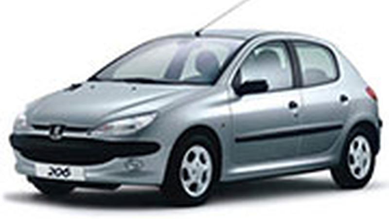 Авточехол для Peugeot 206 (1998-2006)