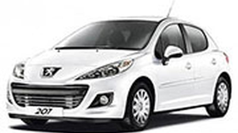 Авточехол для Peugeot 207 (2006-2013)