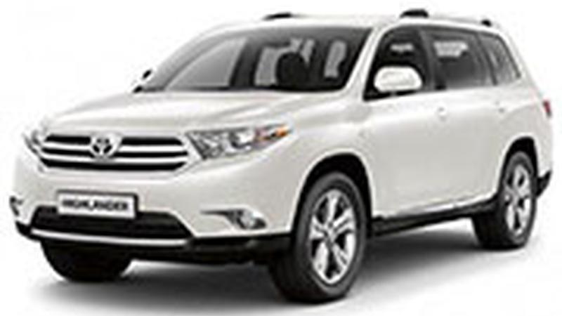 Авточехол для Toyota Highlander II U40 (2007-2013)