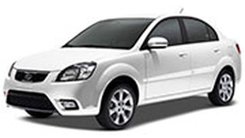 Авточехол для KIA Rio II хэтчбек (2005-2011)