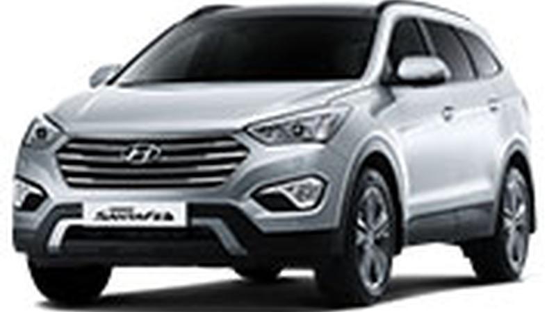 Авточехол для Hyundai Santa Fe III (2013+)