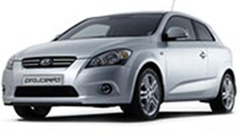 Авточехол для KIA pro'Ceed купе (2007+)