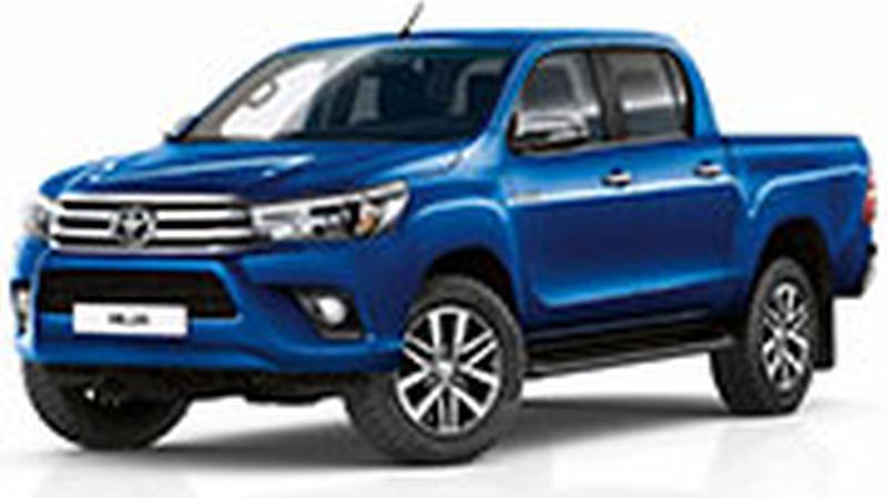 Авточехол для Toyota Hilux VIII (2015+)