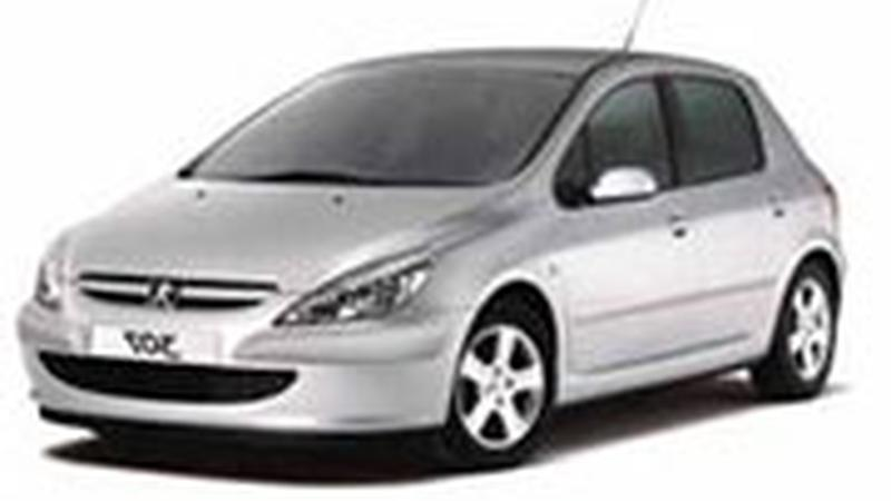 Авточехол для Peugeot 307 хэчбек (2001-2008)