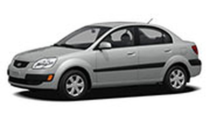 Авточехол для KIA Rio II седан (2005-2011)