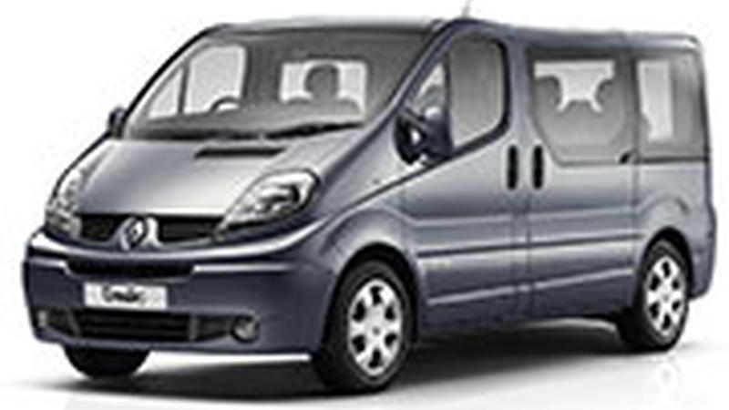 Авточехол для Renault Trafic X83 8 мест (2001-2014)
