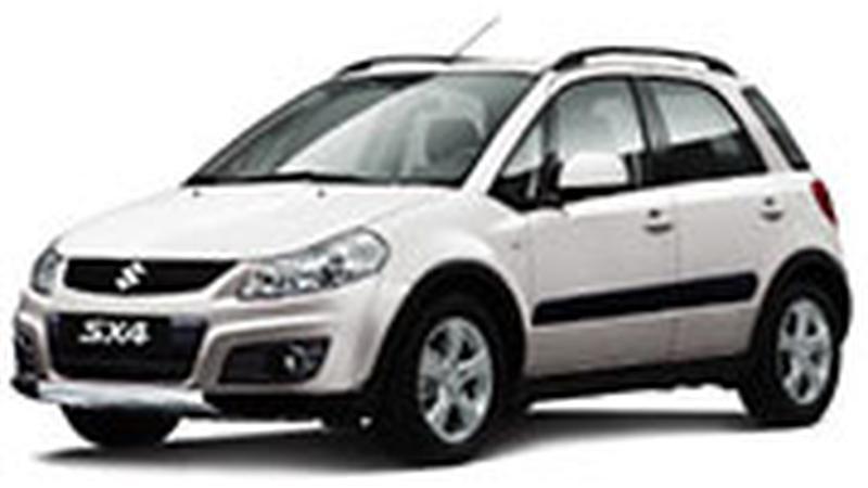 Авточехол для Suzuki SX4 хэтчбек (2010+)