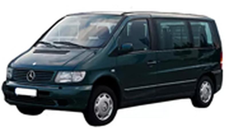 Авточехол для Mercedes Vito 6 мест (1996-2003)