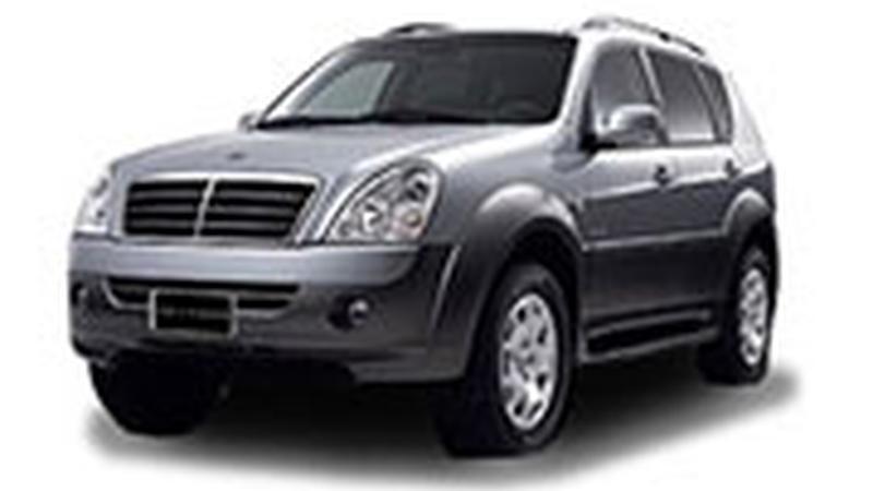 Авточехол для SsangYong Rexton II (2007-2012)