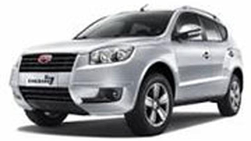 Авточехол для Geely Emgrand X7