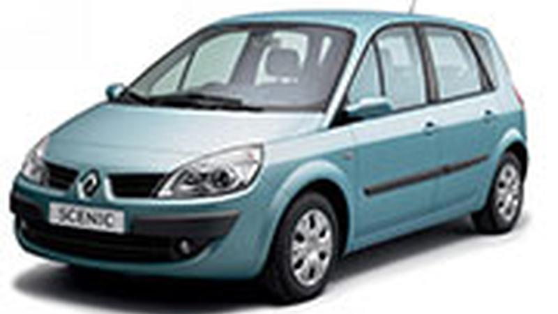 Авточехол для Renault Scenic 2 Lux (2003-2009)