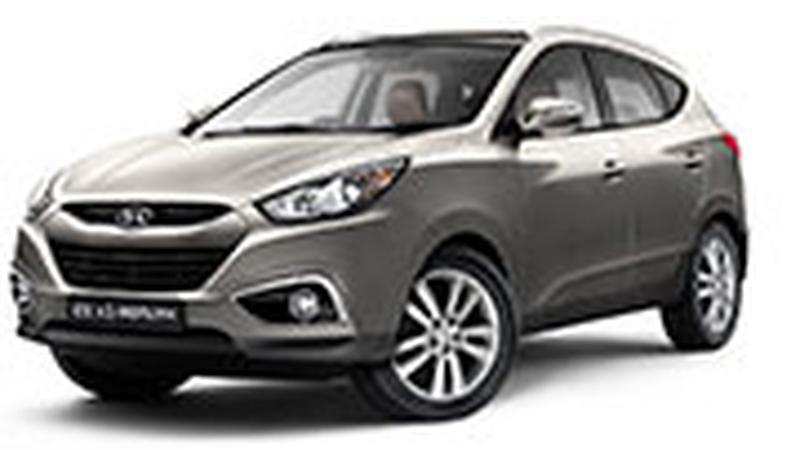 Авточехол для Hyundai ix-35 (2010+)