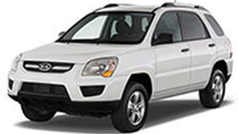 Авточехол для KIA Sportage (2008-2009)