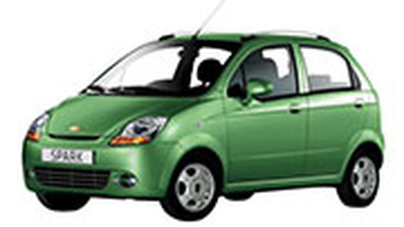 Авточехол для Chevrolet Spark (2005+)