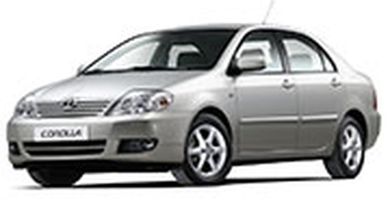 Авточехол для Toyota Corolla E120 седан (2000-2008)