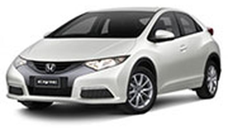 Авточехол для Honda Civic хэтчбек (2012+)