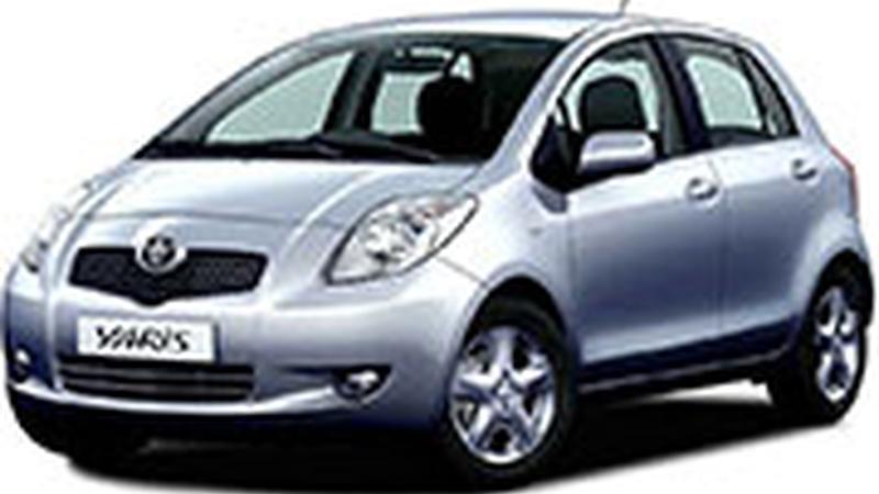 Авточехол для Toyota Yaris хэтчбек (2005+)