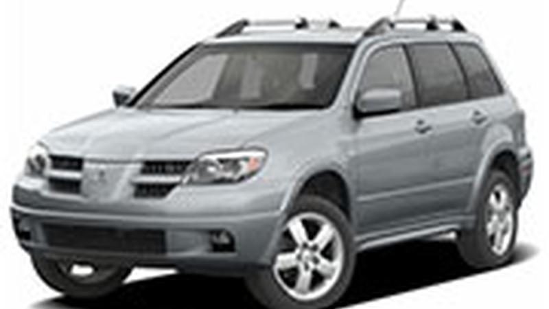 Авточехол для Mitsubishi Outlander I (2003-2008)