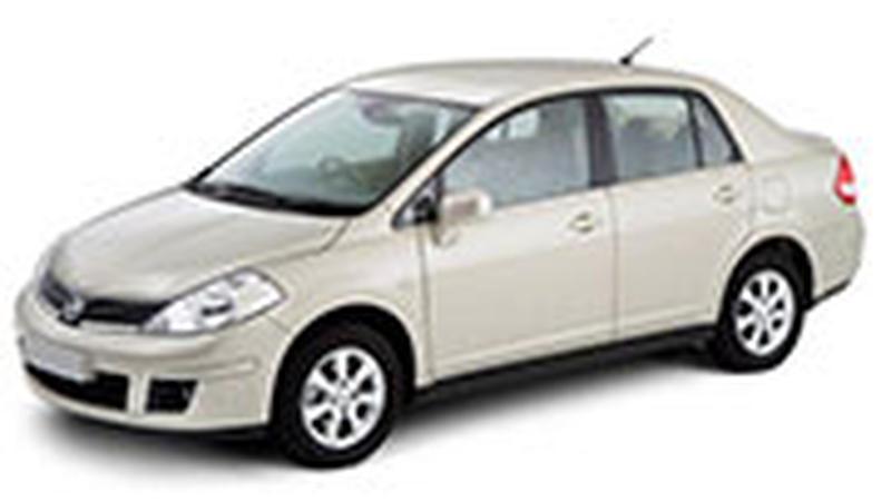 Авточехол для Nissan Tiida С11 седан (2004+)