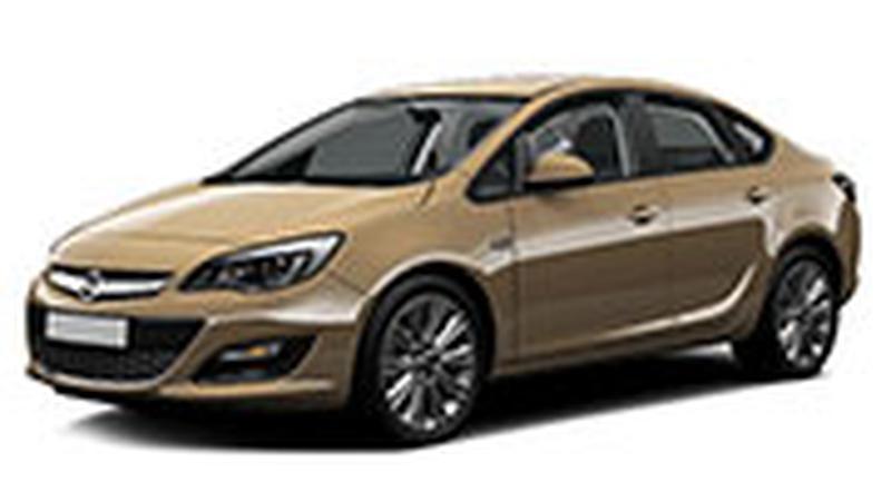 Авточехол для Opel Astra J седан\хэтчбек (2010+)