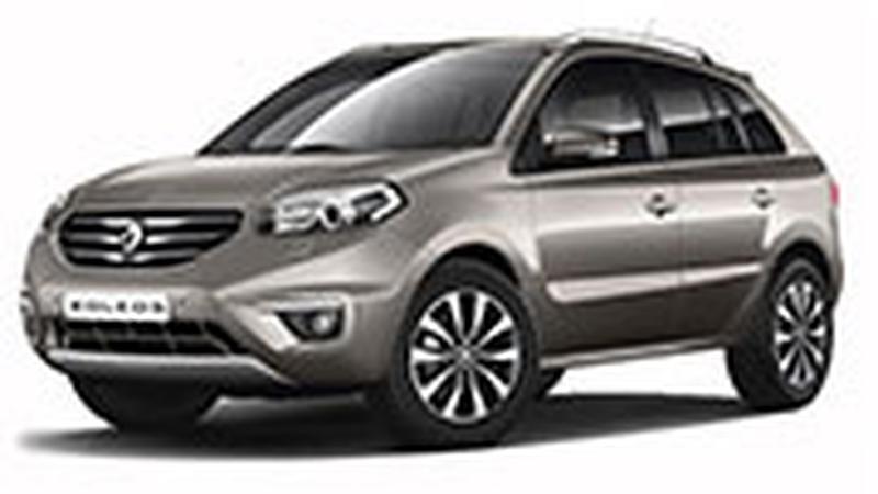 Авточехол для Renault Koleos (2008+)