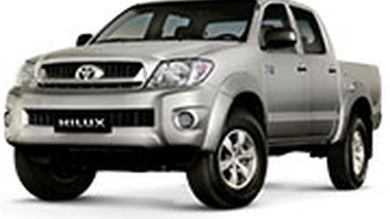 Авточехол для Toyota Hilux