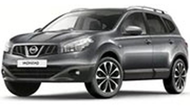 Авточехол для Nissan Qashqai (2007-2013)