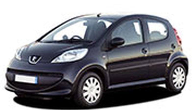 Авточехол для Peugeot 107 (2005-2014)