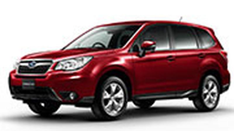 Авточехол для Subaru Forester IV (2012+)