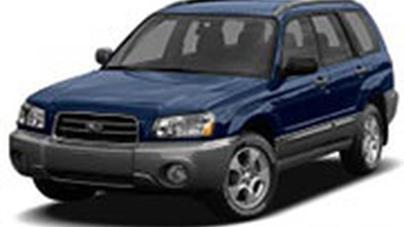 Авточехол для Subaru Forester II (2002-2008)