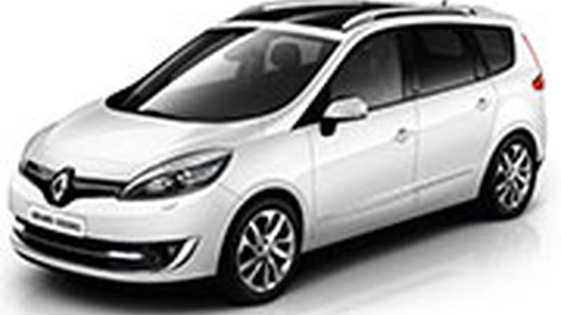 Авточехол для Renault Scenic 3 Lux (2009+)