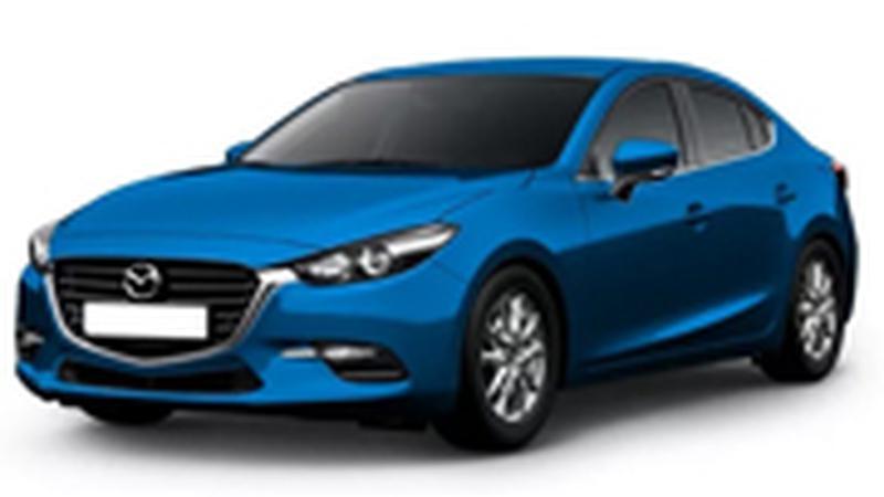 Авточехол для Mazda 3 седан (2014+)