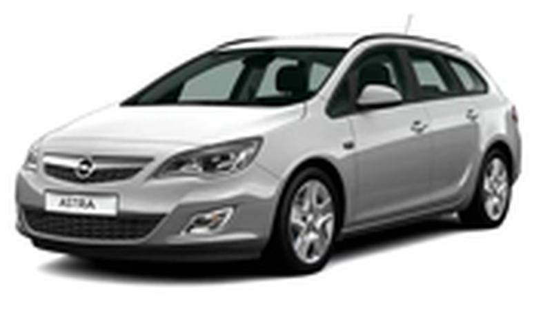 Авточехол для Opel Astra J универсал (2010+)