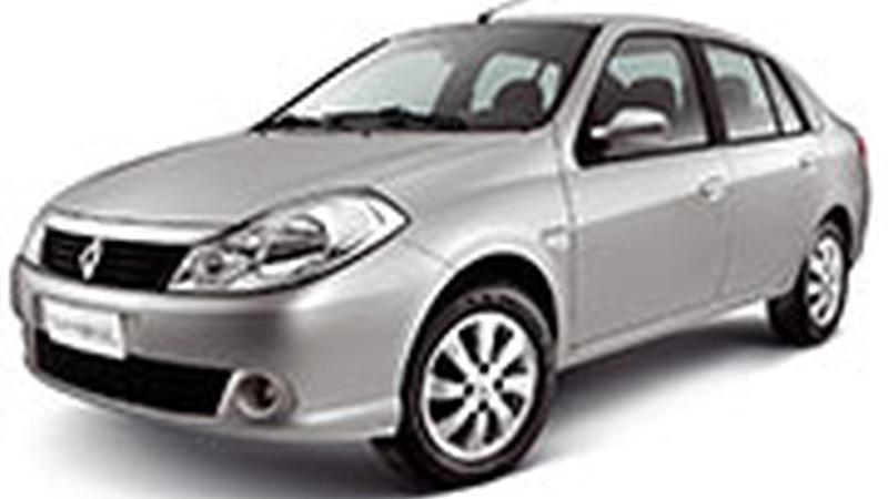 Авточехол для Renault Symbol (2008-2012)