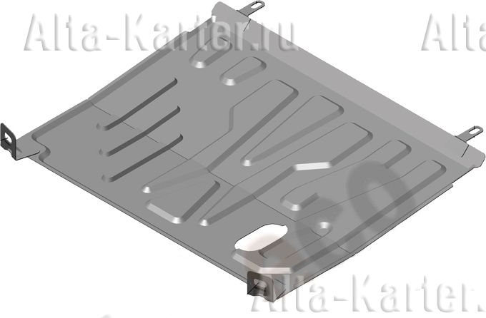 Защита Alfeco для картера и АКПП Lada Kalina II 2013-2018. Артикул ALF.28.14 st