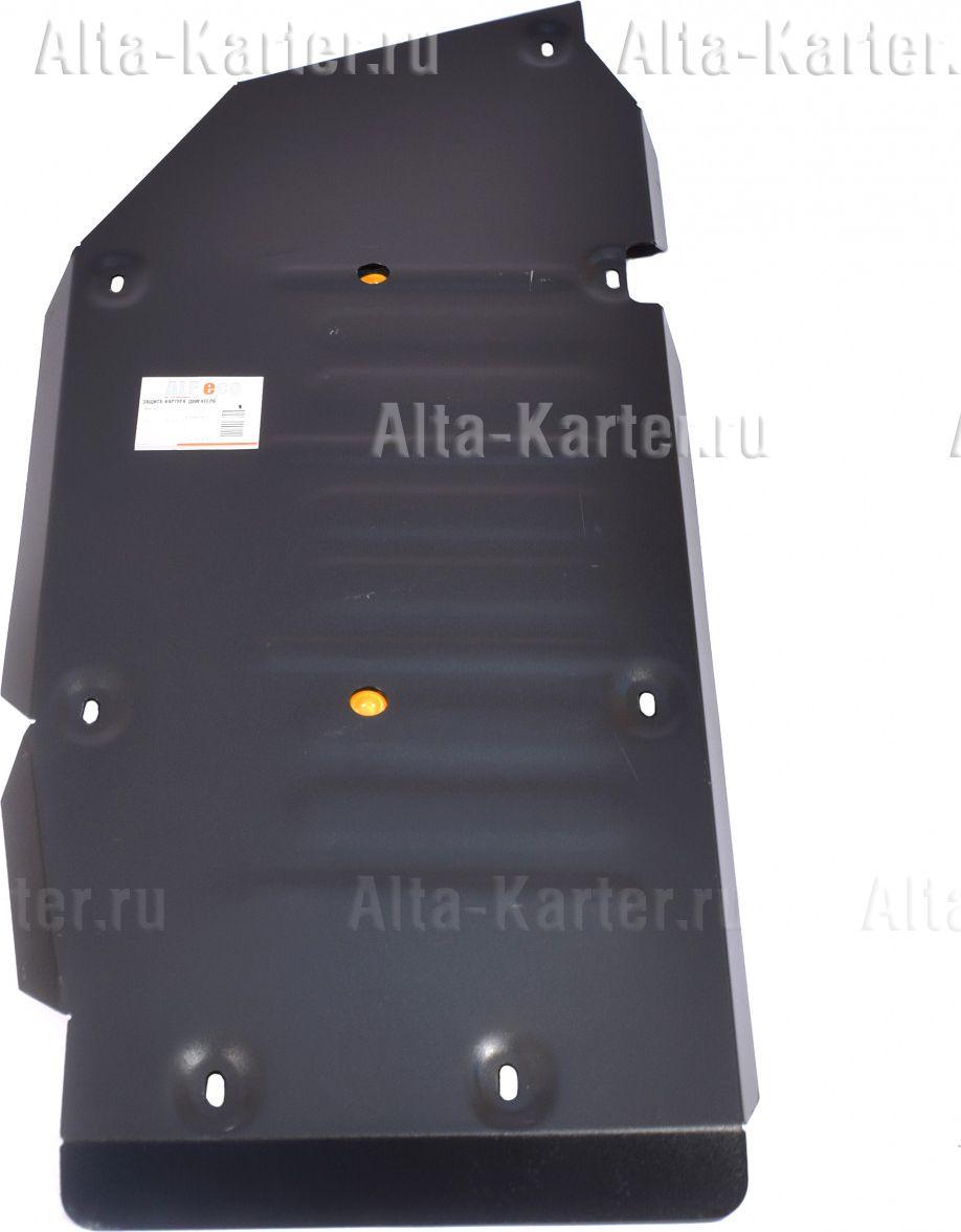 Защита Alfeco для топливного бака Hyundai Starex H1 2007-2021. Артикул ALF.10.36