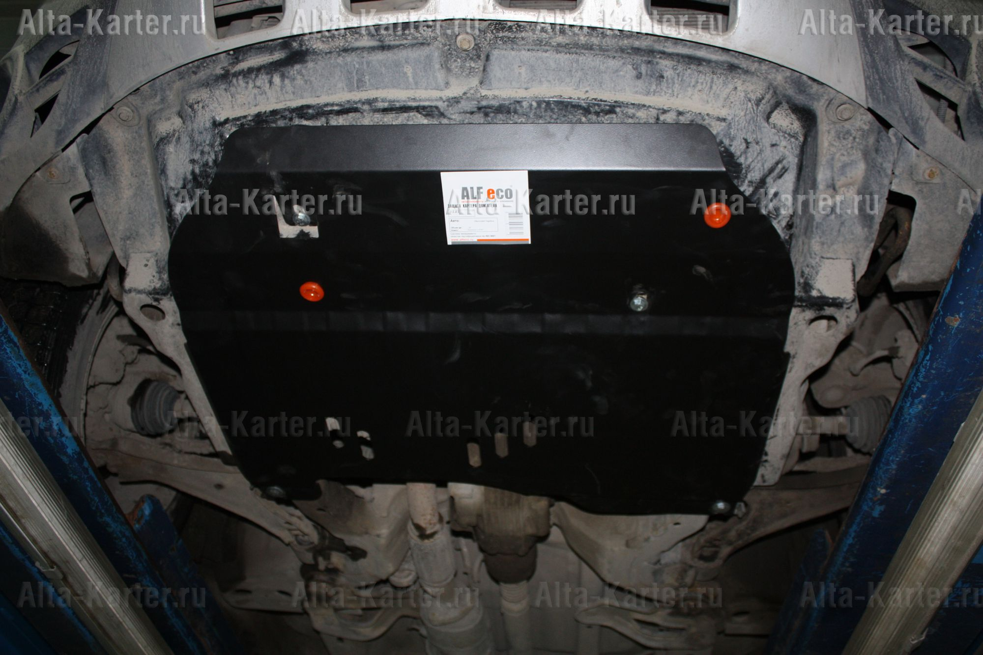 Защита Alfeco для картера и КПП Opel Antara 2006-2011. Артикул ALF.16.01