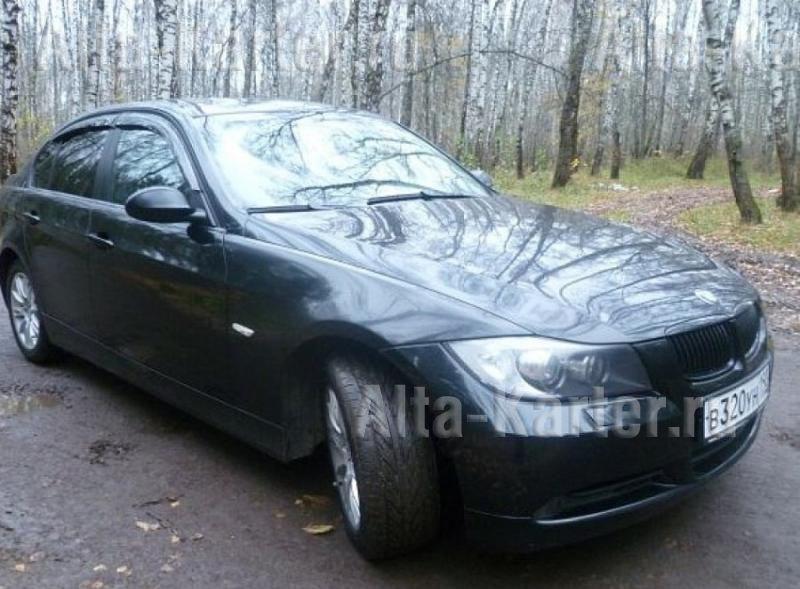 Дефлекторы Cobra Tuning для окон BMW 3 E90 седан 2005-2012. Артикул B20605