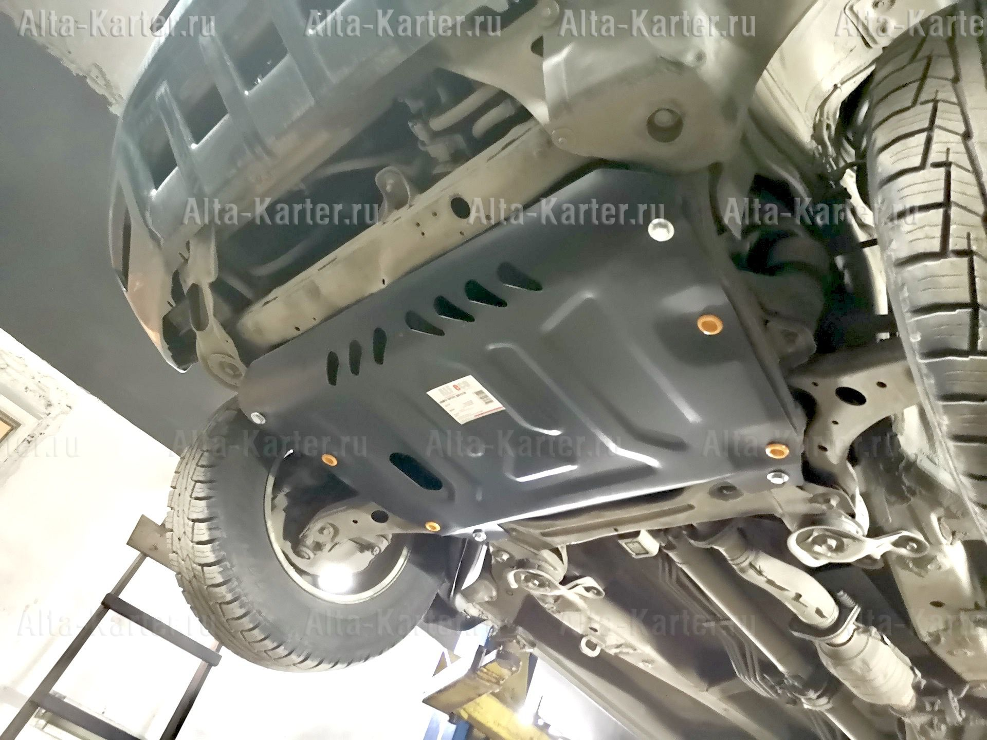 Защита Alfeco для картера Lexus RX 300, 330, 350, 400 II 2003-2008. Артикул ALF.12.03